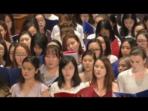 World Music CHOIR Melbourne University Summer 2017