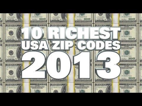 Top 10 Richest ZIP Codes 2013