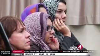 KRON4: Ahmadiyya Muslim Community hold prayer vigil for San Bernardino shooting victims