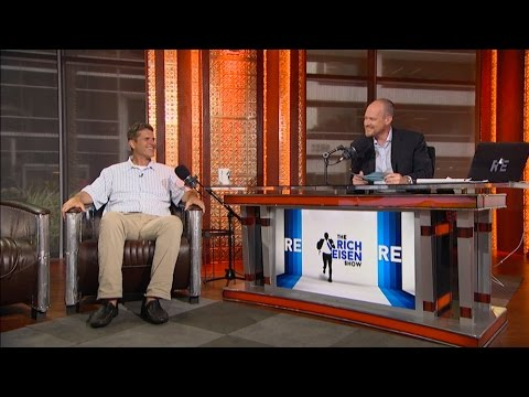 Michigan Football Head Coach Jim Harbaugh Joins The RE Show in Studio - 7/15/16