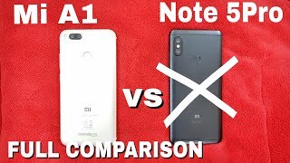 😱😱😱🤔Don't Buy Redmi Note 5 Pro 6GB RAM Variant|Redmi Note 5 Pro vs Mi A1 SpeedTest, Gaming, Battery