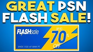 GREAT PSN FLASH SALE RIGHT NOW! Upcoming PS4 EXCLUSIVE NOT DEAD!