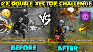 ONLY FIRST GUN CHALLENGE IN SOLO VS SQUAD TURNED INTO DOUBLE VECTOR CHALLENGE - GARENA FREE FIRE