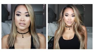 How to install 22 inch clip in extensions ft. Bellami Balayage 4/18 Guy Tang