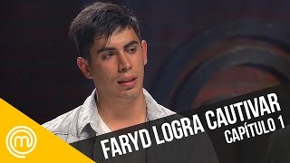 Faryd logra cautivar   MasterChef Chile 3   Capítulo 1