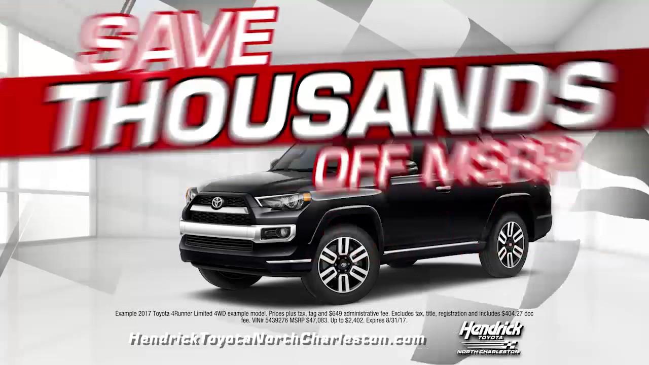 Hendrick Toyota Of North Charleston TNCH 0269 H Race To 2000 Offers REV 2