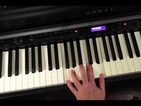"Steely Dan - intro to ""Josie""   (piano)"
