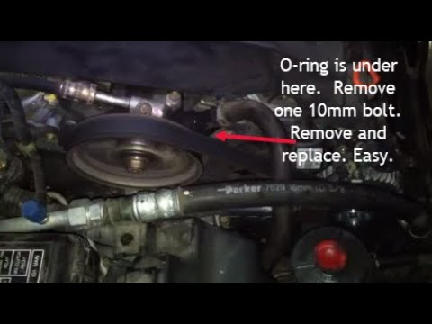how to fix power steering pump noise