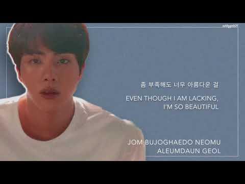 BTS Jin - 'Epiphany (MV Ver.)' [Han|Rom|Eng lyrics]