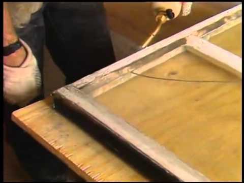 Repairing A Broken Window Pane