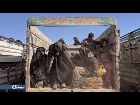 صور صادمة لنازحي دير الزور بعد أن ساروا على أقدامهم في الصحراء أربعة أيام بلياليها - سوريا