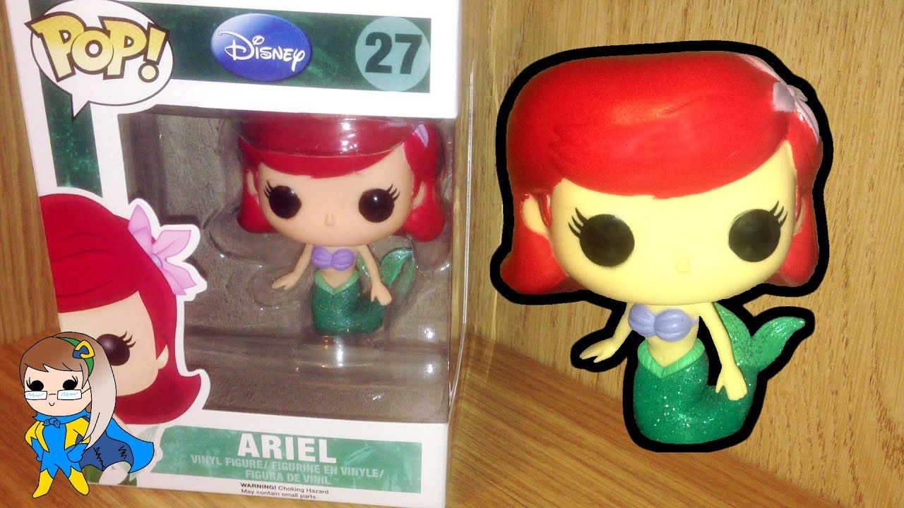 Pop Disney Ariel Vinyl Series 3 Funko Toy Review 55