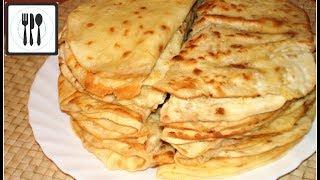 Кыстыбый - лепешки с картофельной начинкой. Татарские пироги/Tatar patatesli tava boregi