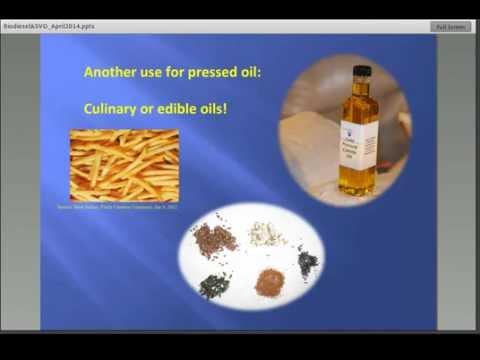 On-Farm Oilseed Pressing for Fuel and Food--Northeast Bioenergy Webinar