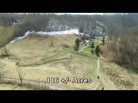 116 Acre Jane Lew, West Virginia Farm