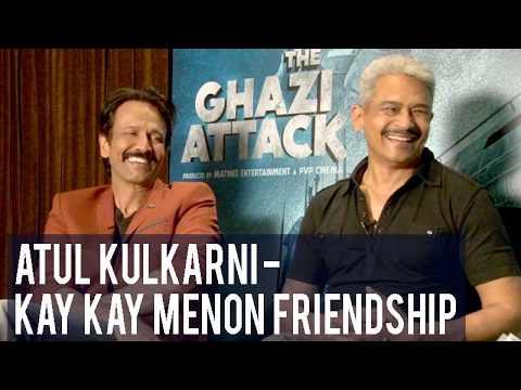 Kay Kay Menon and Atul Kulkarni are each other's BIGGEST fans