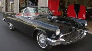 1957 Ford Thunderbird Convertible 312 V8