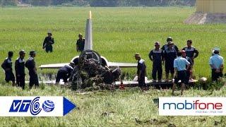 Hiện trường máy bay quân sự rơi ở Phú Yên  | VTC