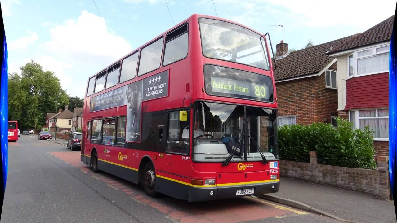 Journey On The 80 (PVL287 PJ02RCY) Plaxton President Volvo B7TL