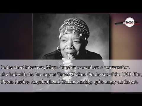 YOU ARE IMPORTANT: MAYA ANGELOU RECOUNTS A CONVERSATION WITH TUPAC