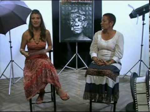 Programa cultural Luces, invitada  Dulce María López. Profesora de teatro cubano.