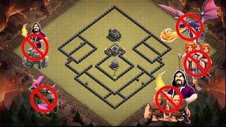 部落衝突 Clash of Clan 9本難三星強陣#1