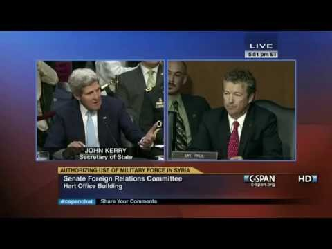 Rand Paul was Right About Syrian War (Flashback) | C-SPAN