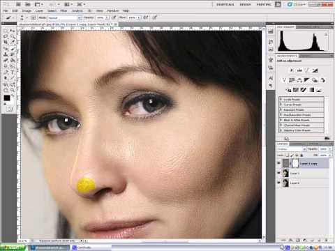 Shannen Doherty - Photoshop Makeover