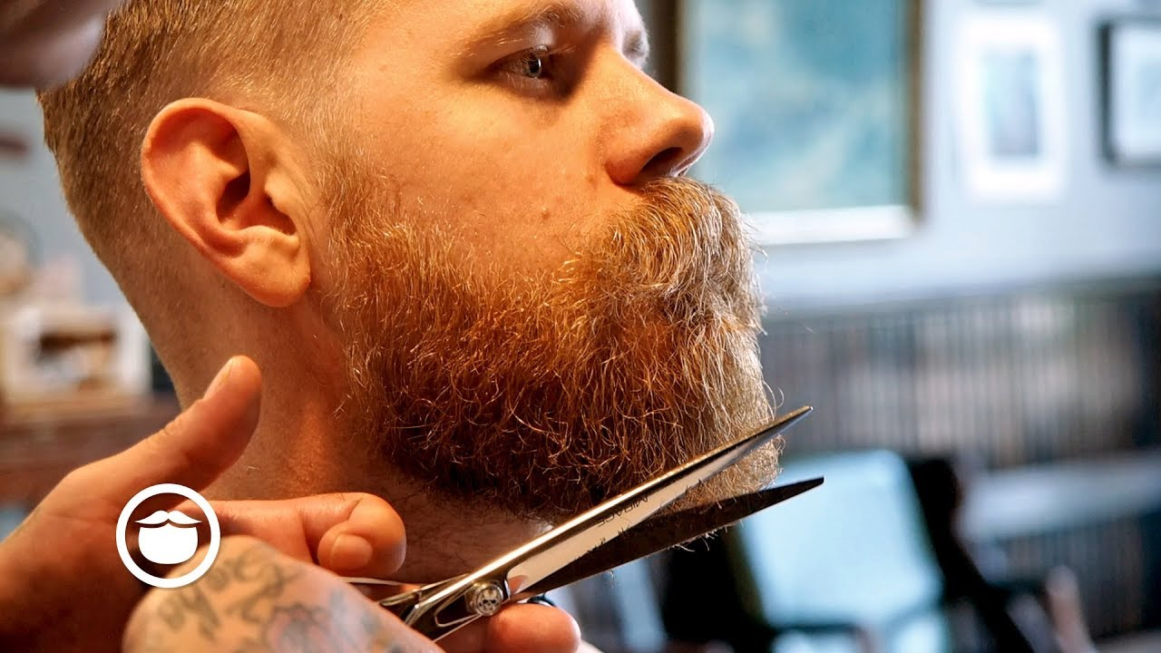 Classic Haircut And Beard Trim At Old School Barbershop Youtube