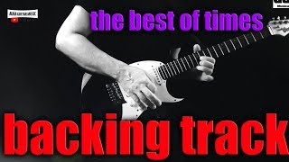 THE BEST OF TIMES backing track