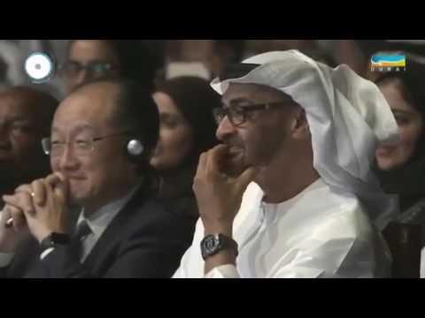 محمد بن راشد يمسح بكرامة عمر أديب الأرض