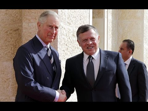 Watch: Prince Charles meets with Jordan's King Abdullah