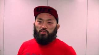応援ありがとうございました。  UFC FIGHT NIGHT 75   安西信昌 試合後コメント