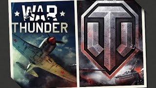 Сравнение игр.  War thunder  VS  World of Tanks