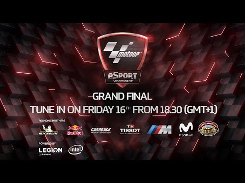 It's time for the MotoGP eSport Grand Final
