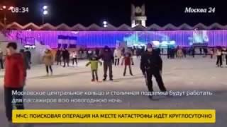 Смотреть видео Москва 24. Афиша. Новый год в парке. онлайн