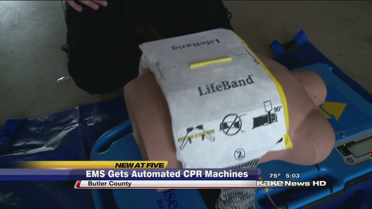 ems gets new cpr machines youtube