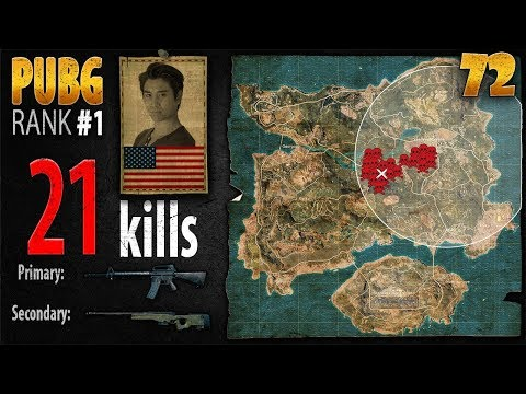 PUBG Rank 1 - Anthony 21 kills SOLO - PLAYERUNKNOWN'S BATTLEGROUNDS #72