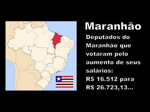Deputados do Maranhão que aumentaram o próprio salário
