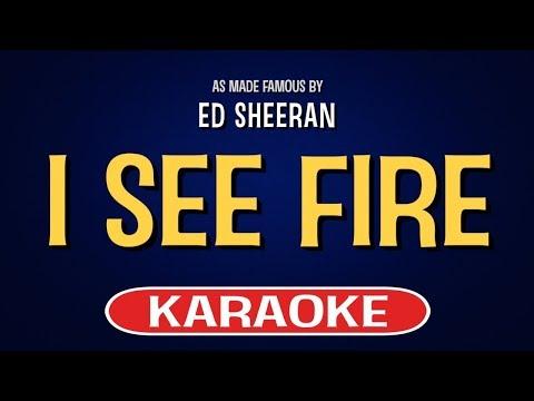 I See Fire (Karaoke Version) - Ed Sheeran | TracksPlanet