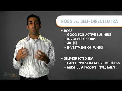 Rollover as Business Startups vs. Self-Directed IRA