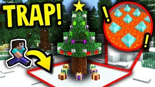 CHRISTMAS TREE SPIKE TRAP PRANK! (Boundless Modded Minecraft Survival #4)
