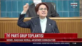 Meral Akşener, İYİ Parti Grup Toplantısı'nda konuşuyor #CANLI
