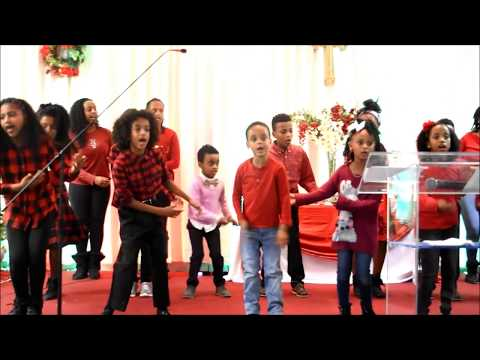 WORSHIP With Columbus,Ohio O.E.C.KIDS. CHRISTMAS 2017