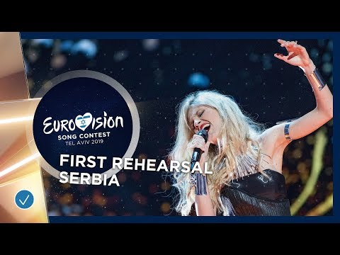 Serbia 🇷🇸 - Nevena Božović - Kruna - First Rehearsal - Eurovision 2019