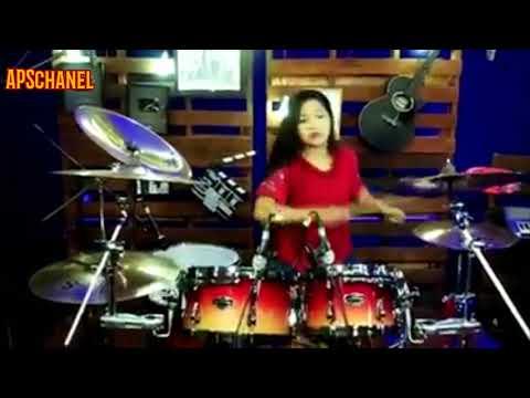 Drummer Cantik Dj Aisya Keren Banget😨