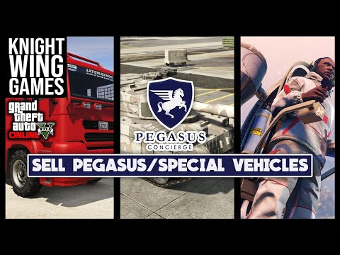 HOW TO SELL YOUR PEGASUS VEHICLES IN GTA 5 ONLINE