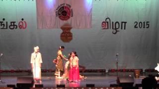 shishu bharati team performance @ New england Tamil Sangam 2015