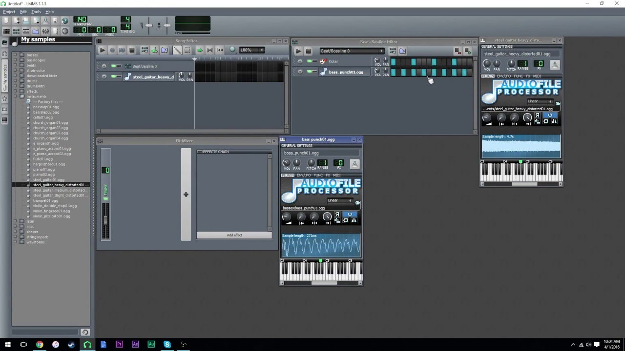 LMMS Tutorial: How to Create A Basic Sequence
