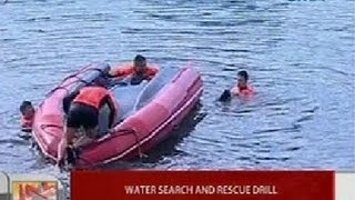 UB: Water search and rescue drill